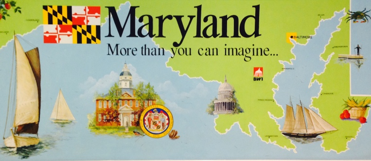 maryland BWI sign